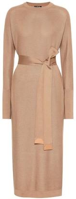 Loro Piana Costwold cashmere and silk dress