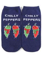 Forever 21 Chilly Peppers Ankle Socks