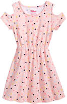 Epic Threads Toddler Girls Printed Cold Shoulder Dress, Created for Macy's