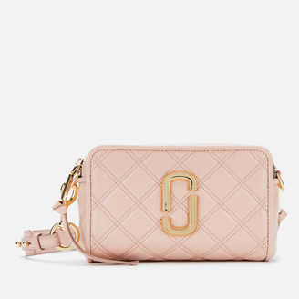 Marc Jacobs Women's The Softshot 21 Cross Body Bag - Nude