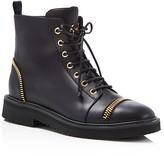 Giuseppe Zanotti Hilary Zipper-Embellished Boots
