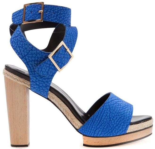 Pierre Hardy stacked sandal