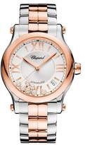 Chopard 36mm Happy Sport Two-Tone Watch with Diamonds