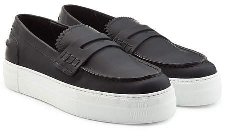 DSQUARED2 Platform Leather Loafers