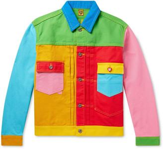 Human Made Embroidered Patchwork Denim Trucker Jacket