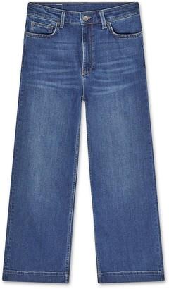 Jigsaw Wide Leg Crop Jean
