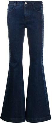 Stella McCartney Side Logo Flared Jeans