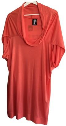 Bernhard Willhelm Red Viscose Dresses