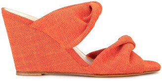 Maryam Nassir Zadeh Twisted Slip-On Wedges