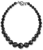 Carolee Jet Crystal Beaded Necklace