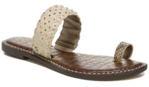 Sam Edelman Women's Germaine Woven Toe-Ring Sandals Women's Shoes