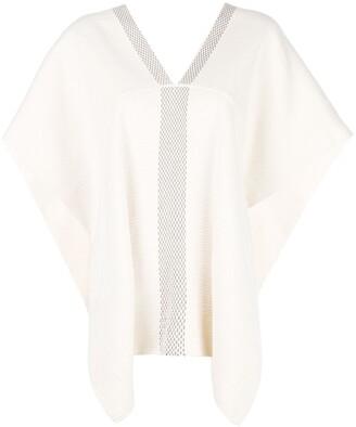 Voz Short-Sleeve Flared Sweater