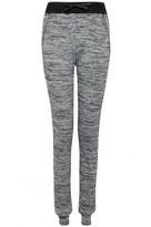 Select Fashion Fashion Womens Grey Salt And Pepper Jogger - size L