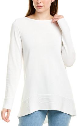 Forte Cashmere Round Hem Cashmere Sweater