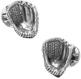 Ox & Bull Trading Co. Men's Sterling Silver Baseball Glove Cufflinks