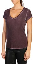 Paige Women's Charlie Studded V-Neck Tee