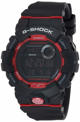Casio Mens Analogue-Digital Quartz Watch with Resin Strap GBA-800-1AER