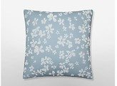 Calvin Klein Dotted Floral Pillow In Cove