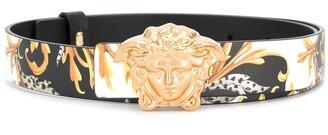 Versace Baroque Print Belt