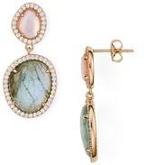 Nadri Isola Two Stone Drop Earring - 100% Exclusive