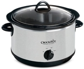 Crock Pot Crock-Pot Crock-Pot SCR500-SP 5-Qt. Manual Slow Cooker