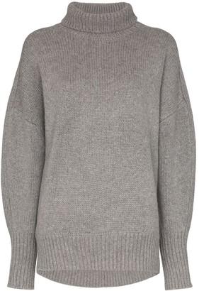 Hyke roll neck knit jumper