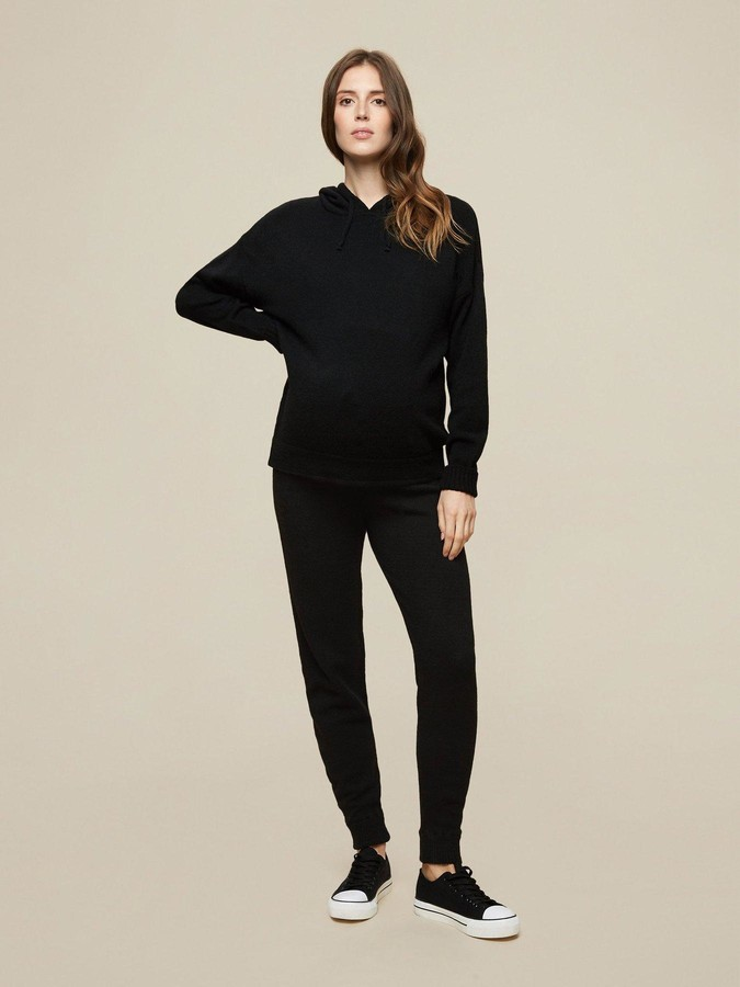Thumbnail for your product : Dorothy Perkins Maternity Lounge Joggers - Black