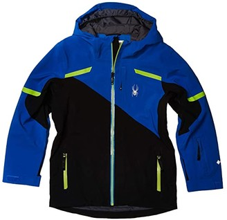 Spyder Couloir Gore-Tex Ski Jacket (Big Kids) (Black) Boy's Clothing