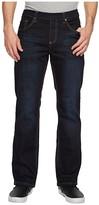 Nbz(R) NBZ(r) Elastic Waist Straight Leg Jean in Slate Blue (Slate Blue) Men's Jeans