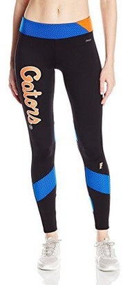 nuyu Women's University of Florida - Yoga Legging W/Mesh Insert