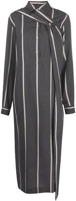 Litkovskaya Double-Breasted Striped Dress