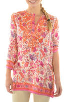 Gretchen Scott Full Bloom Tunic