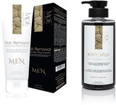 The Ultimate Men Spa Combo- Body Hair Removal & Tranquilizing Body Wash