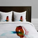 Deny Designs Marta Spendowska Nature Creatures 4 Duvet Cover