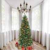 The Holiday Aisle 7' Green Douglas Fir Artificial Christmas Tree with 300 Clear Lights