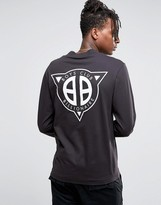 Billionaire Boys Club Turtleneck Long Sleeve T-Shirt With Back Print