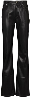 Misbhv High Waist Vegan Leather Trousers