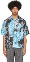 Kanghyuk Multicolor Camo Airbag Short Sleeve Shirt