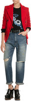 Golden Goose Deluxe Brand High-Waisted Cropped Jeans