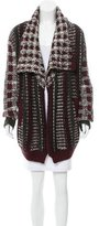 Yigal Azrouel Chunky Knit Open Front Cardigan
