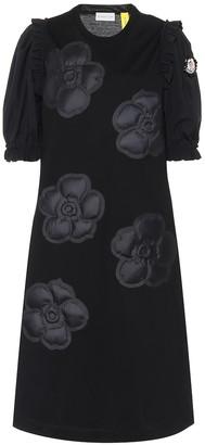 MONCLER GENIUS 4 MONCLER SIMONE ROCHA cotton dress