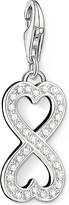 Thomas Sabo Charm club silver and zirconia infinity heart charm