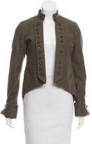 Gryphon Embellished Wool Jacket