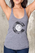 Etsy Women's Triblend Tank Top - Colorado Topography - American Apparel - Women's XS Through Large Availa