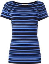 MICHAEL Michael Kors striped T-shirt - women - Polyester/Spandex/Elastane - XS