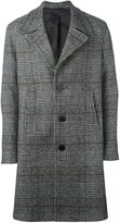 Neil Barrett short plaid coat
