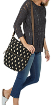 Fat Face Tia Woven Cross Body Bag, Black