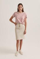 Sportscraft Milano Button Skirt