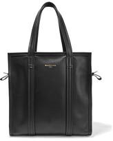 Balenciaga Bazar Leather Tote - Black