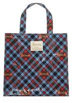 Harrods Small Borthwick Tartan Shopper Bag